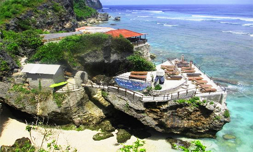 Beach bar Uluwatu