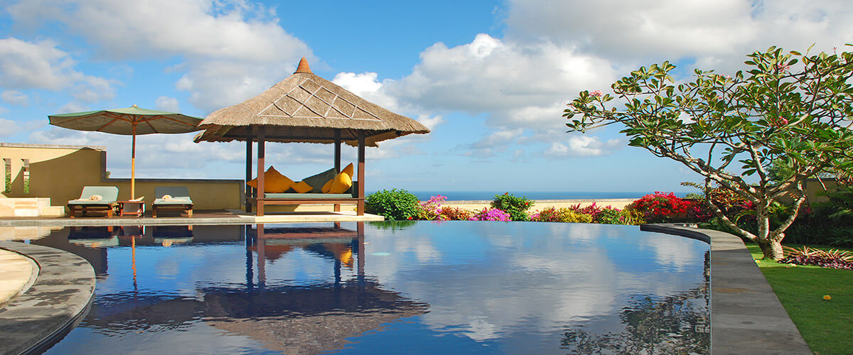 Villas with private pool on Bali, Indonesia