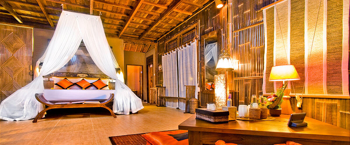 Experience an authentic Balinese villa